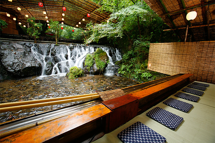Kifune, a popular Summer resort in Kyoto! Enjoy cool breeze in